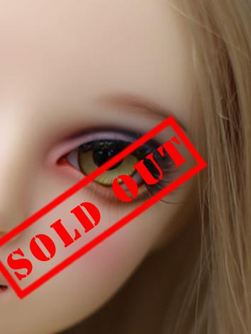 SALES BJD EYES 16MM Yellow Eyeballs Black Iris Ball Jointed Doll