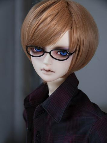 1/3 Wig Boy Brown Short Hair for SD/70cm Size Ball-jointed Doll