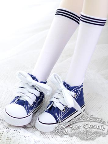 Bjd Socks White Stockings f...