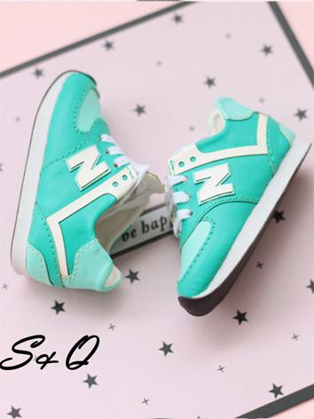 1/4 1/6 Girl/Boy Mint/Orange/Pink/Purple/Rose Sports Shoes for MSD/YSD Ball-jointed Doll
