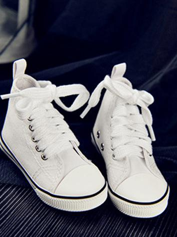 70cm Boy Shoes White/Red/Bl...