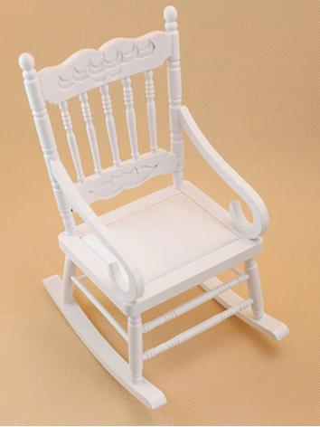 BJD White Shaky Chair for YOSD Ball-jointed Doll