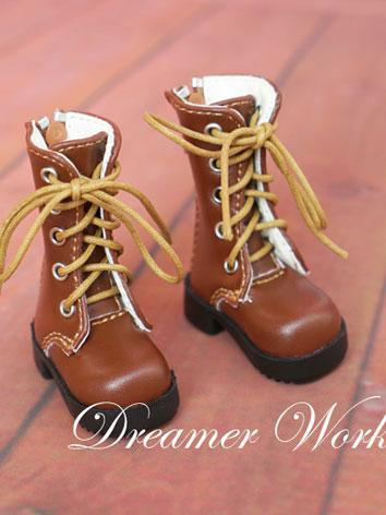 1/6 Shoes Brown Boots Shoes for YSD Ball-jointed Doll