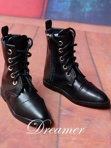 1/3 Shoes Male Black Shoes for SD Ball-jointed Doll