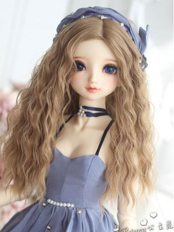 1/3 Wig Girl Curly Hair for...