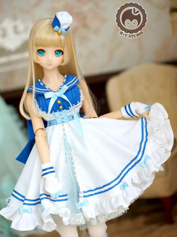 1/3 DD Clothes Girl Navy Dr...