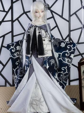 BJD Clothes Boy/Girl Kimono [XuanJi] for 75cm/70cm/SD/MSD/YSD Ball-jointed Doll