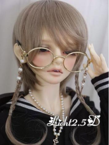 1/3 1/4 1/6 Wig Girl/Boy Gold/Brown Hair[NO.30] for SD/MSD/YSD Size Ball-jointed Doll