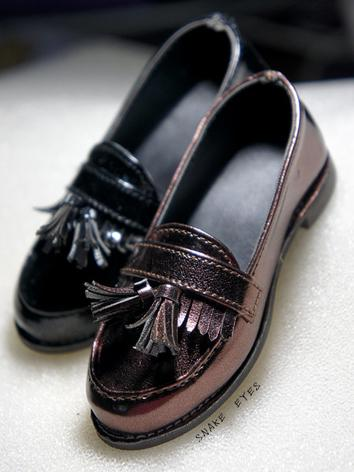 1/3 1/4 Shoes Male Black/Brown Shoes for SD/MSD Ball-jointed Doll