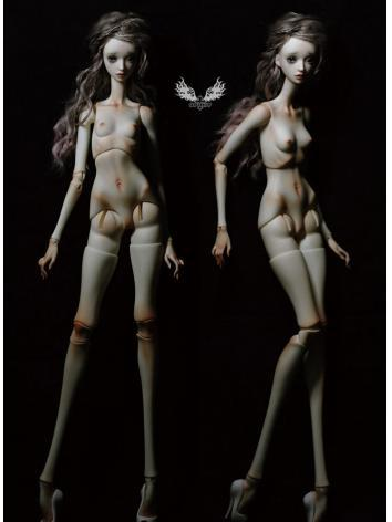 BJD 53cm Fantasy jointed torso body Ball Jointed Doll