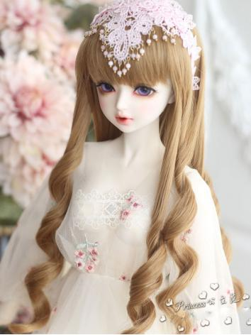 1/3 1/4 Wig Girl Light Brow...