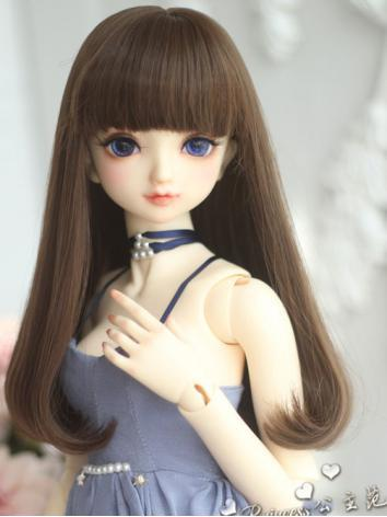 1/3 1/4 1/6 Wig Girl Gold/Brown Hair for SD/MSD/YOSD Size Ball-jointed Doll