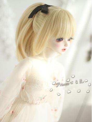 1/3 Wig Girl Gold Hair for SD Size Ball-jointed Doll