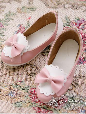 Bjd 1/4 Girl Shoes Pink/Pur...