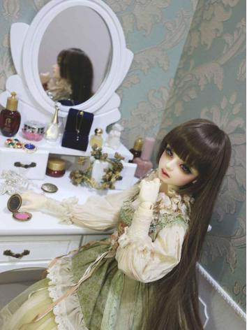 BJD Furniture Dressing Table Mirror for SD Ball-jointed doll