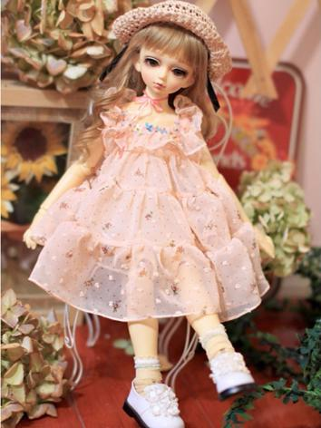 BJD Clothes Girl Pink Sundr...