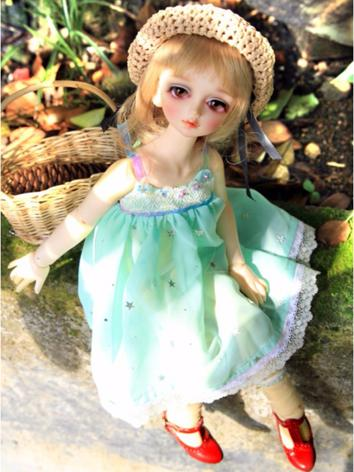 BJD Clothes Girl Blue Sundr...