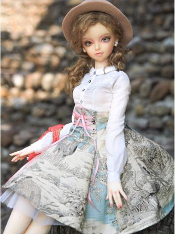 BJD Clothes Girl Printed Sk...