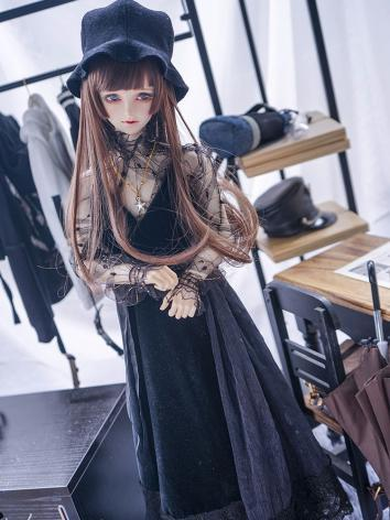 BJD Clothes Limited Boy/Girl Black Dress Suit for 70cm/SD/MSD Ball-jointed Doll