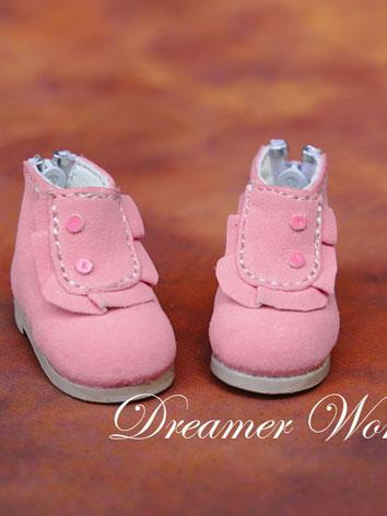 1/6 Shoes Pink Shoes for YSD Ball-jointed Doll