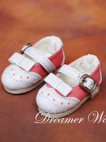 1/6 Shoes White&Pink Shoes for YSD Ball-jointed Doll