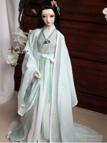 BJD Clothes Chinese Ancient Male/Female Suit【MaoYue】for YSD/MSD/SD/70CM Ball-jointed Doll