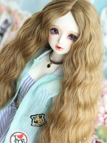 1/3 Wig Girl Golden Brown C...