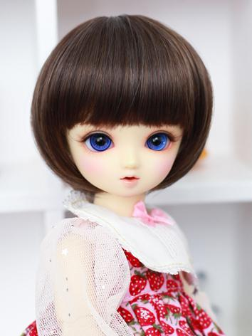 BJD Wig Girl Chocolate BoBo...