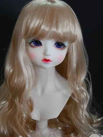 BJD Wig Boy/Girl Gold Curly...