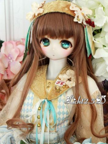 1/3 1/4 1/6 Wig Girl/Boy Brown Hair[NO.69] for SD/MSD/YSD Size Ball-jointed Doll