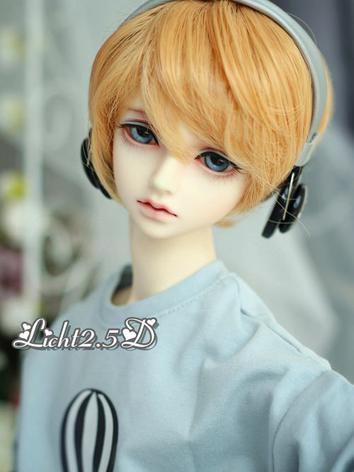 1/3 Wig Gold/Brown Short Hair[NO.50] for SD Size Ball-jointed Doll