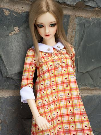 Custom-sized Clothes Girl Gird Dress for MDD/MSD/SD/DD/65CM Ball-jointed Doll