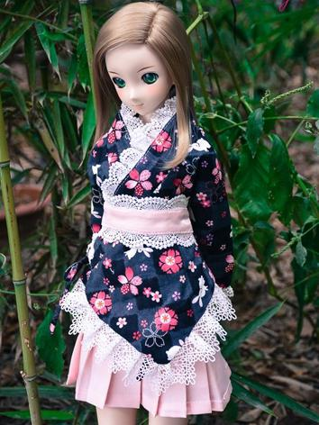 Custom-sized Clothes Girl Dress for MDD/MSD/SD/DD/65CM Ball-jointed Doll