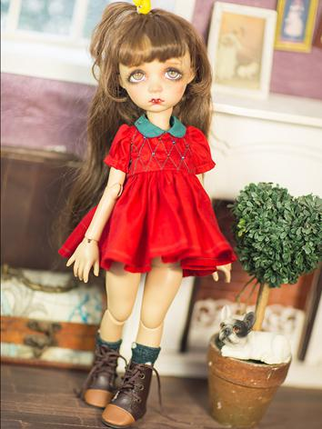 1/6 Clothes Red Dress for Y...