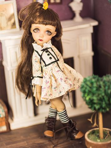 1/6 Clothes Printed Dress f...