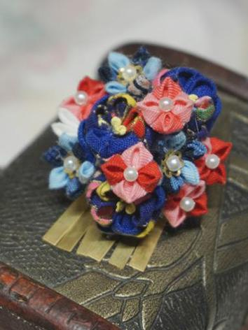 BJD Kimono Hairpin Hairpiece[RuoSong]for YOSD/MSD/SD/70cm Ball-jointed doll