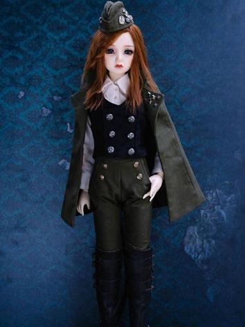 1/3 Clothes BJD Girl Navy Suit Ⅲ for SD Ball-jointed Doll