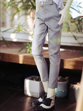 BJD Clothes Boy Gray Trousers Eighth Pants for SD/SD17/70CM/80CM Ball-jointed Doll