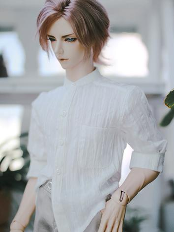 BJD Clothes Boy White Shirt for SD/SD17/70CM/80CM Ball-jointed Doll