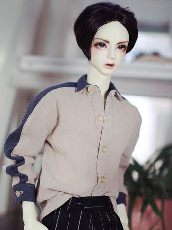 BJD Clothes Boy Light Pink Shirt for SD/SD17/70CM/80CM Ball-jointed Doll