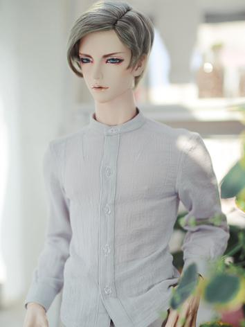 BJD Clothes Boy Light Gray/Light Blue/Khaki Shirt for SD/SD17/70CM/80CM Ball-jointed Doll
