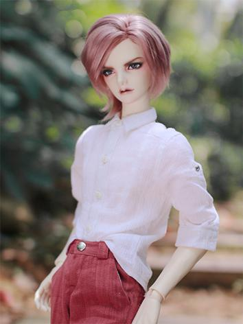 BJD Clothes Boy Light Gray/...