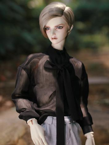 BJD Clothes Boy Black/White Shirt for SD/SD17/70CM/80CM Ball-jointed Doll