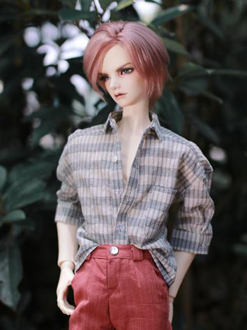 BJD Clothes Boy Gray Shirt for SD/SD17/70CM/80CM Ball-jointed Doll