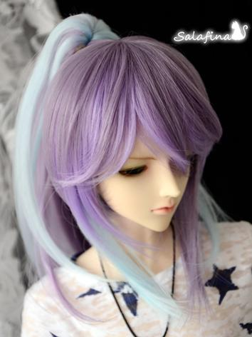 1/3 Wig Boy/Girl Purple Hai...