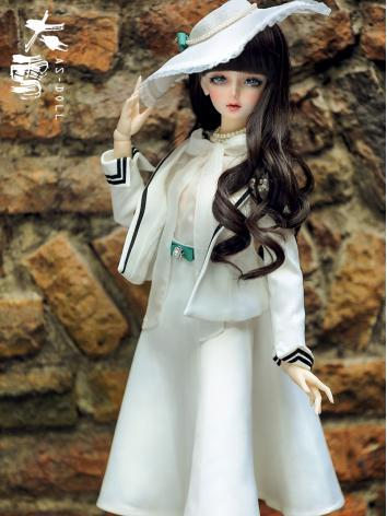 Bjd Clothes 1/3 Girl White ...