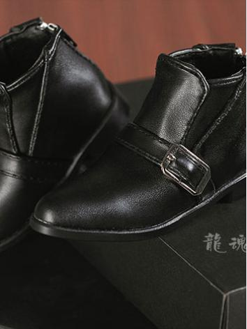 BJD Black High-boots Shoes 70S-0026 for 70cm Ball-jointed doll