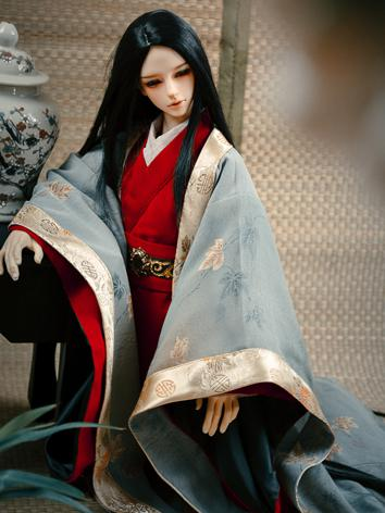 Custom-sized Clothes Boy Ancient Suit for MSD/SD/DD/65CM/70CM/75CM Ball-jointed Doll