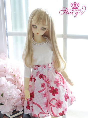 Custom-sized Clothes Girl Sweet Dress for MDD/MSD/SD/DD/65CM Ball-jointed Doll
