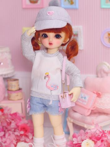 1/6 Clothes Girl/Boy T-shirt + Pants Suit for YSD Ball-jointed Doll